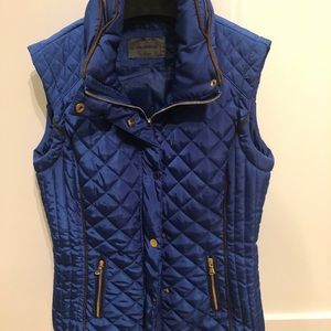 Polo garage blue vest